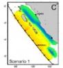 Viterbi experts predict the wake of a pending quake