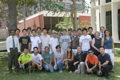 Tsinghua U Stu Exchange 08 Group