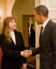 Maja Matarić Receives Presidential Mentoring Award from President Obama