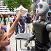 USC's Bandit Robot Takes Center Stage at 2012 World Sciences Festival in NYC