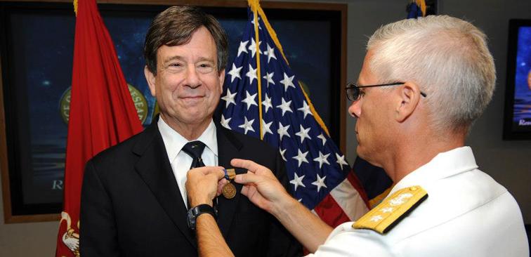 ONR honors Dr. Michael Kassner
