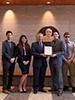 AME Students Earn First Place in AIAA Graduate Team Aircraft Design Competition