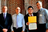 Bo Jin Takes Home USC Award for Excellence in Teaching