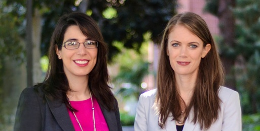 Kelly Sanders and Nora Ayanian are MIT Technology Review 35